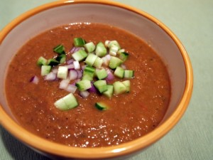Roasted Vegetable Gazpacho