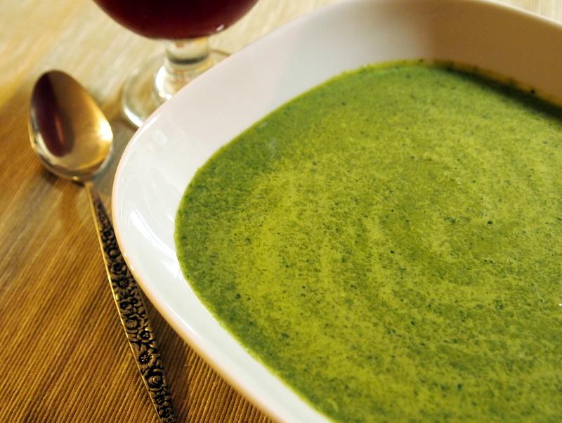 Pureed Kale Soup