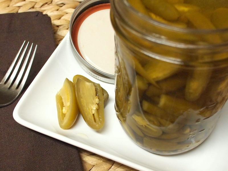 Pickled Jalapenos (Coseppi Kitchen)