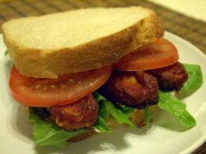 BBQ Tempeh LT Sandwich